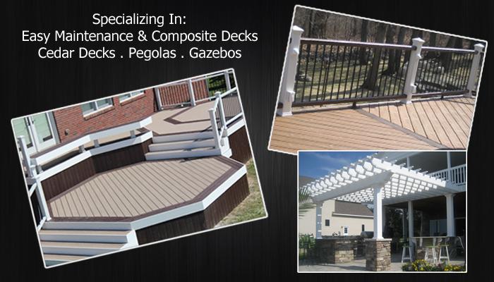 Cedar Wood Deck Builders MI