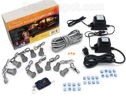 Deck lighting kit in michigan led deck lighting deck lighting kit aloadofball Images